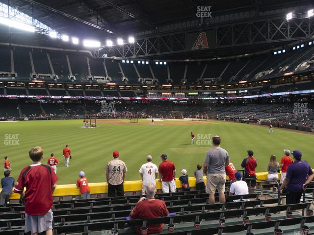 Chase Field Section 142 view