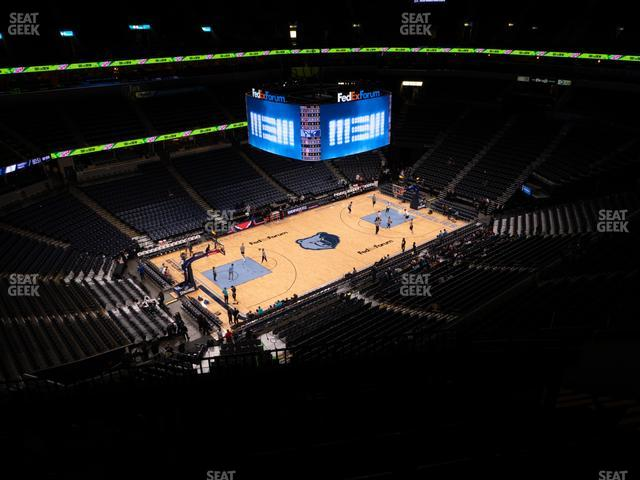 FedExForum Section 221 view