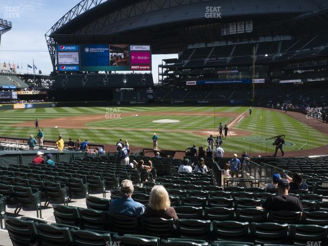 T-Mobile Park Section 134 view