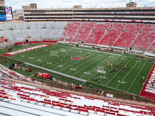 Camp Randall Stadium Section CC view