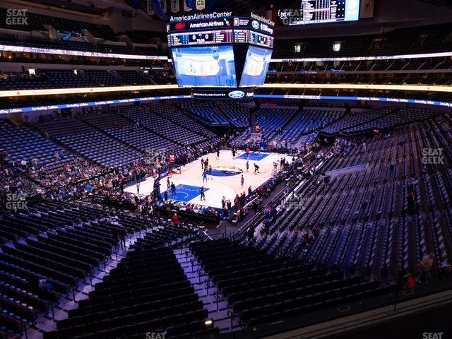 American Airlines Center Section 224 view