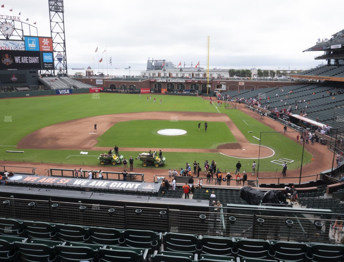 San Francisco Giants at Oracle Park Section 221 View