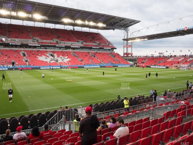 BMO Field Section 125 view