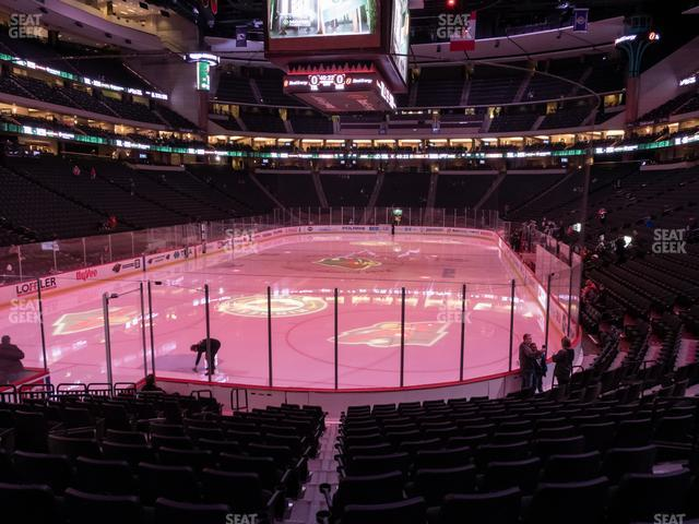 Xcel Energy Center Section 122 view