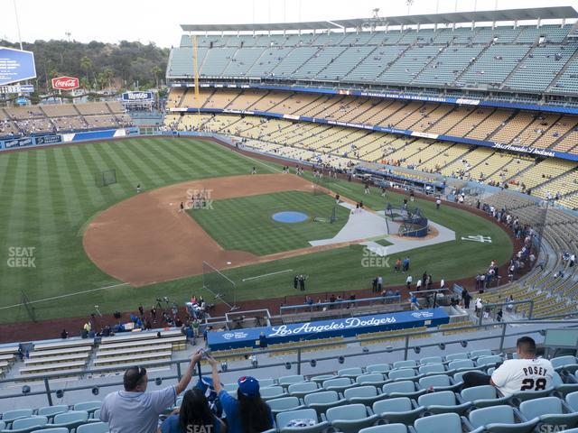 Dodger Stadium Reserve 27 view