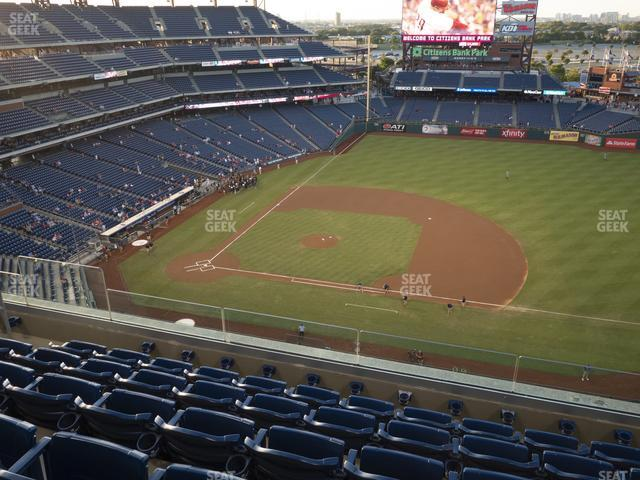 Citizens Bank Park Section 414 view