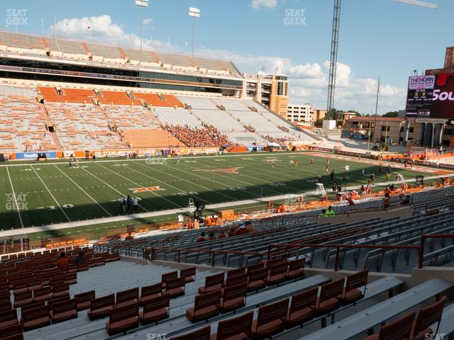 Darrell K Royal - Texas Memorial Stadium Section 7 view