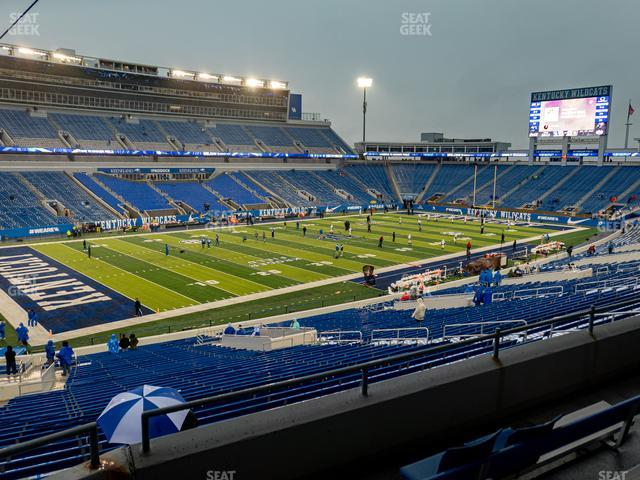 Kroger Field Section 101 view