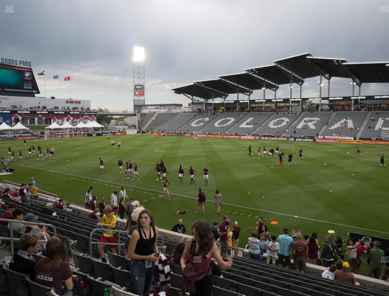 differently 6c7a7 c5d5b Dick's Sporting Goods Park Section 125 Seat Views | SeatGeek