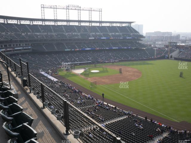 Coors Field Lower 315 view