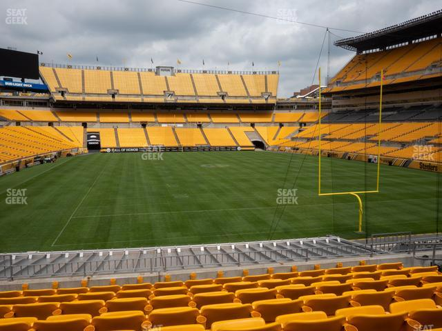 Heinz Field Section 146 view