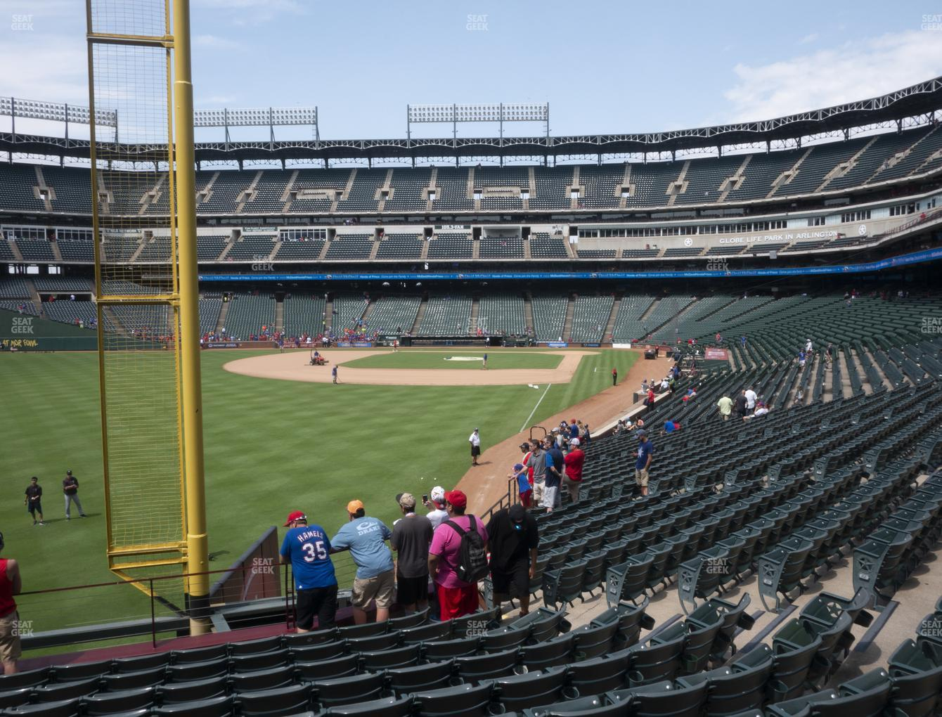Concert at Globe Life Park Section 9 View