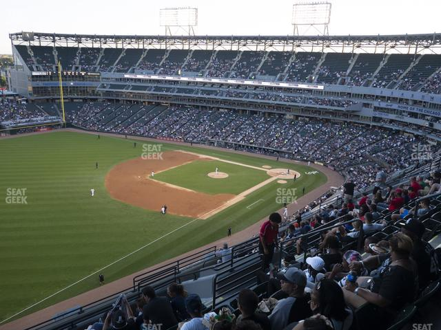 Guaranteed Rate Field Section 550 view