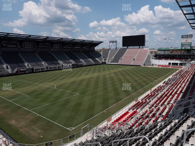 Audi Field Section 112 view