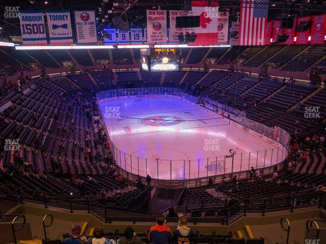 Nassau Veterans Memorial Coliseum Section 235 view