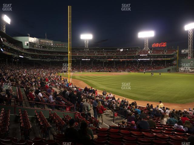 Fenway Park Right Field Box 90 view
