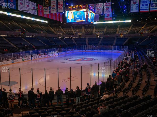Nassau Veterans Memorial Coliseum Section 108 view