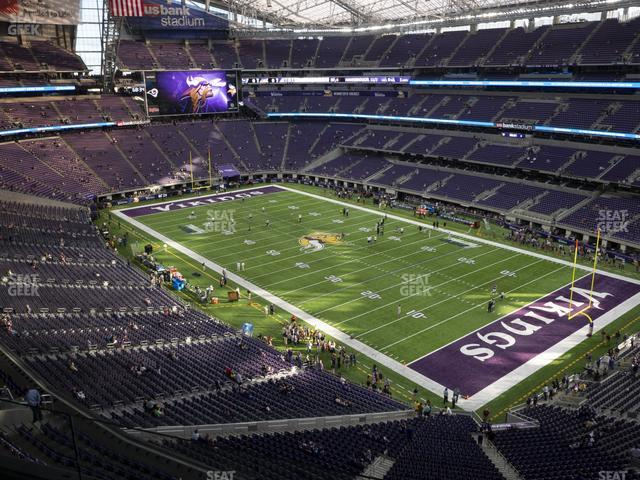 U.S. Bank Stadium Section 305 view