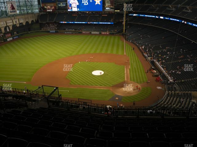 Minute Maid Park Section 415 view