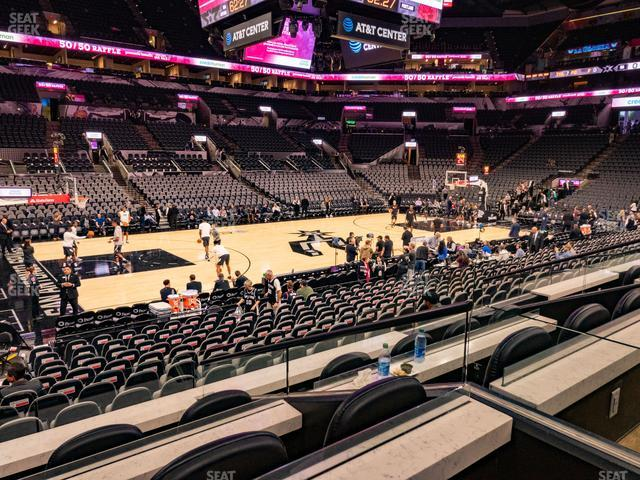 AT&T Center Box 10 A view