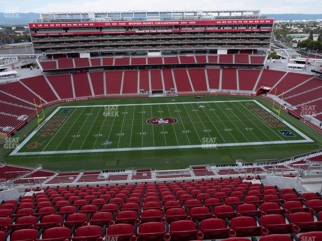 Levi's Stadium Section 412 view