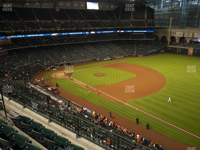 Minute Maid Park Section 330 view