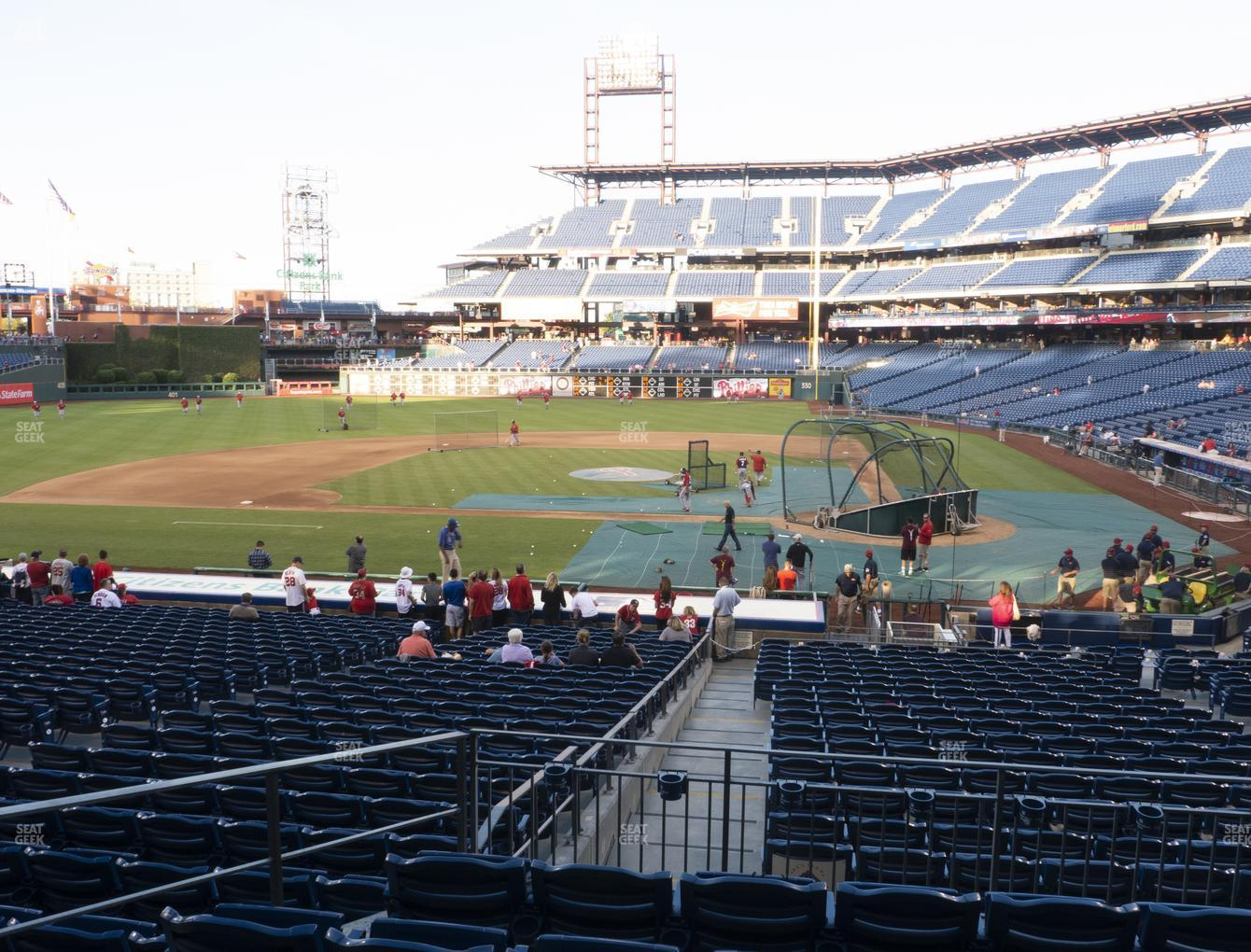 Philadelphia Phillies at Citizens Bank Park Section 128 View