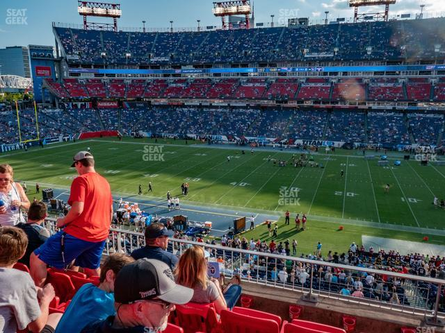 Nissan Stadium Section 210 view