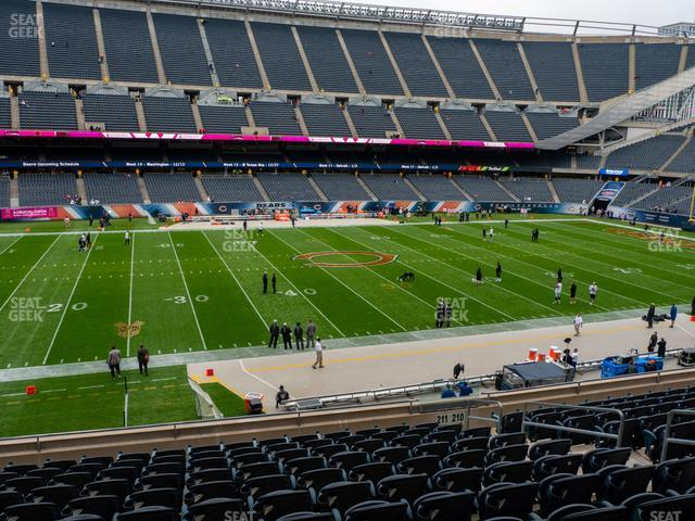 Soldier Field Section 211 view