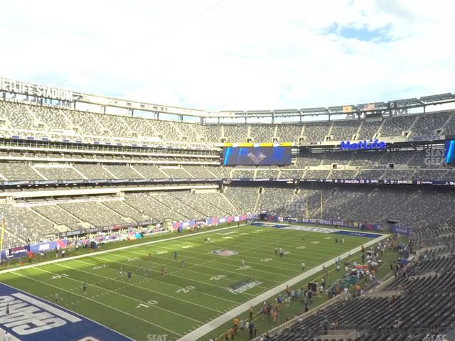 MetLife Stadium Section 245 A view