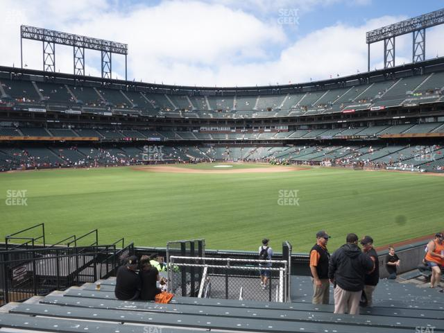 Oracle Park Bleachers 142 view