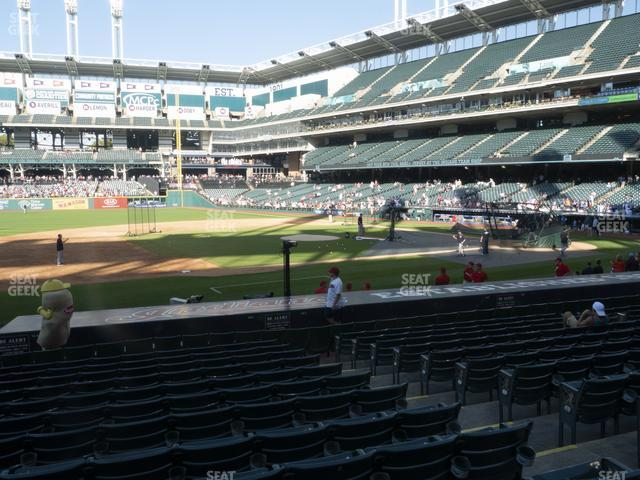 Progressive Field Section 164 view