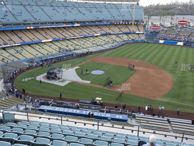 Dodger Stadium Reserve 24 view