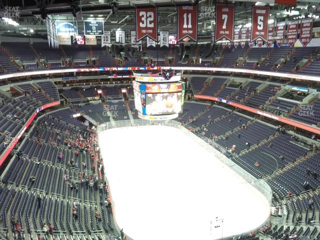 Capital One Arena Section 407 view