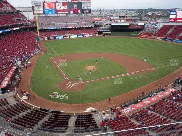 Great American Ball Park Section 426 view