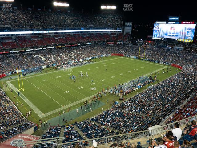 Nissan Stadium Section 341 view