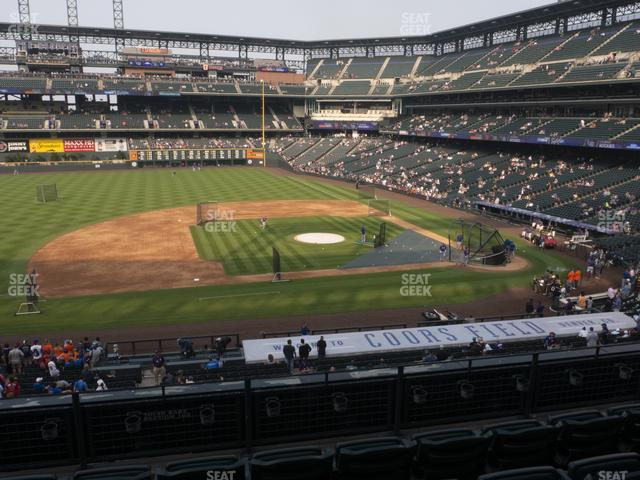 Coors Field Section 239 view