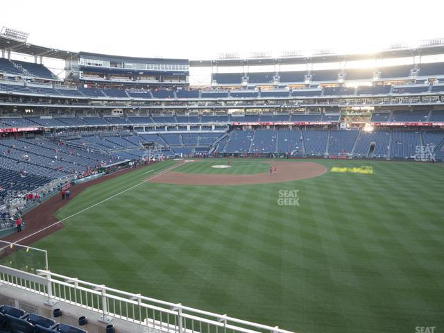 Nationals Park Section 239 view