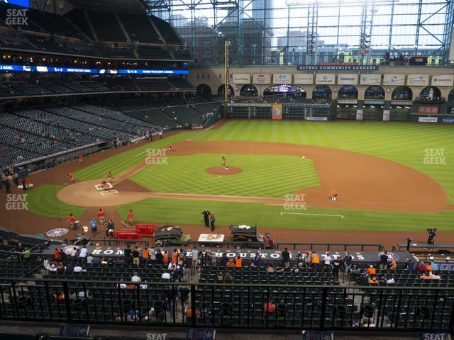 Minute Maid Park Section 225 view