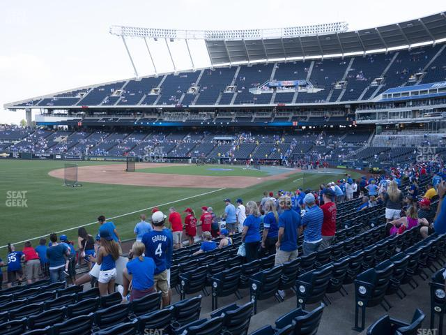 Kauffman Stadium Section 112 view