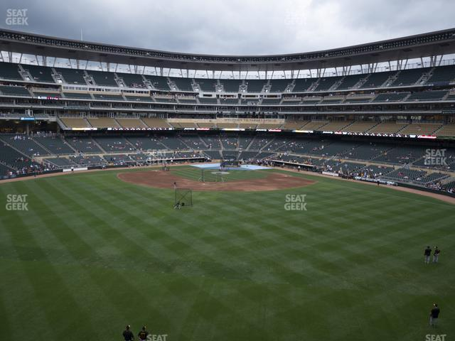 Target Field Section 234 view