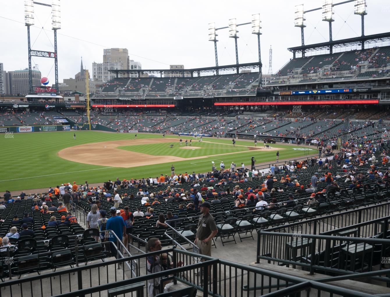 Detroit Tigers at Comerica Park Section 138 View