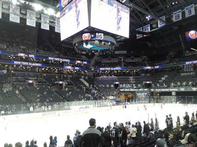 Barclays Center Section 10 view