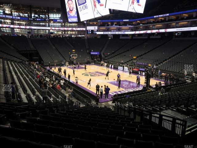 Golden 1 Center Section 116 view