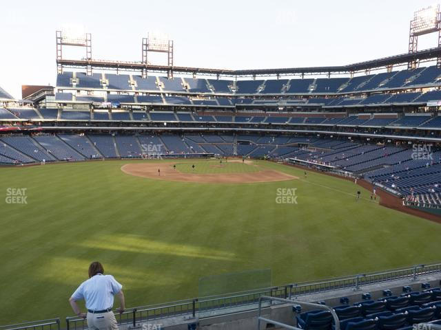 Citizens Bank Park Section 245 view