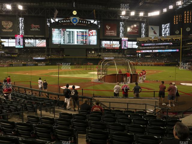 Chase Field Section K view