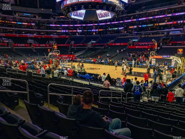 Staples Center Section 118 view