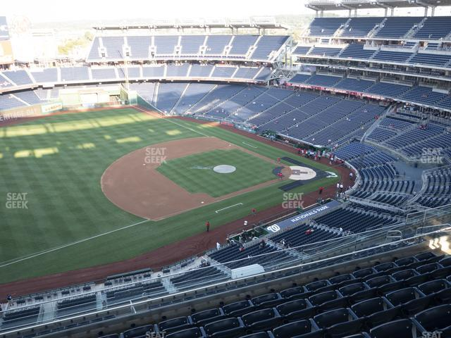 Nationals Park Section 405 view