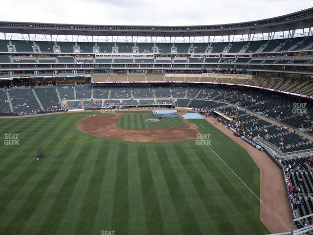 Target Field Section 330 view