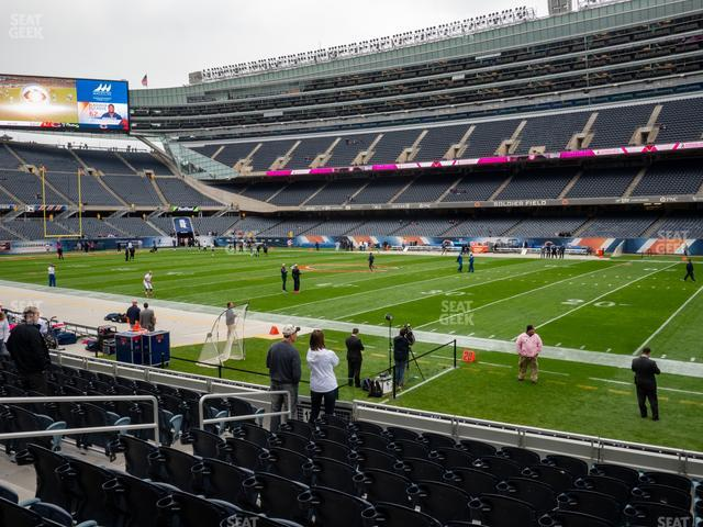 Soldier Field Section 132 view